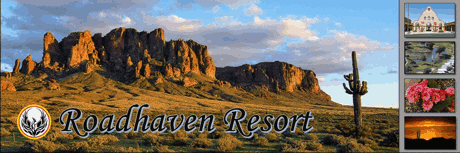 Roadhaven Resort in Apache Junction Arizona